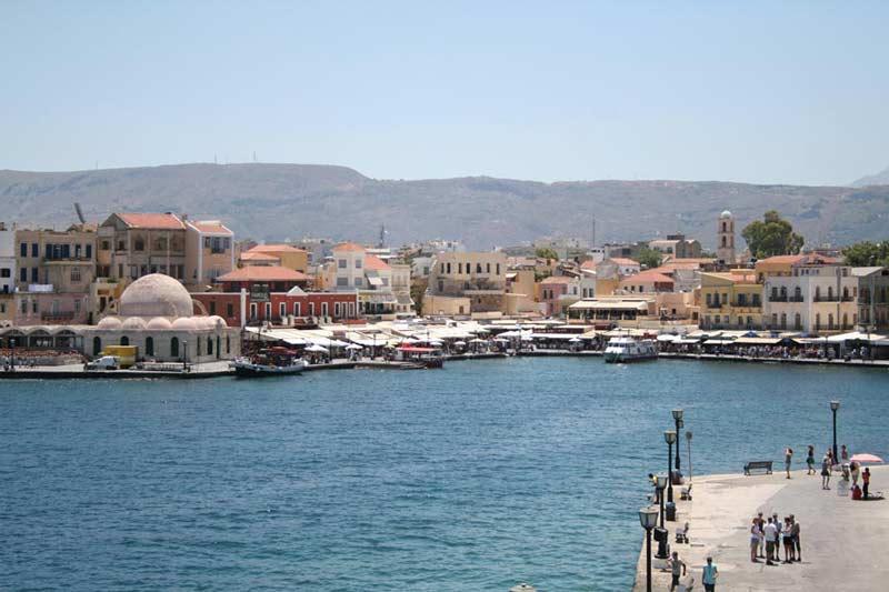 Ciudad de Chaniá, en Creta