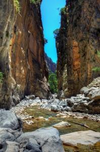 Garganta de Samaria, Creta