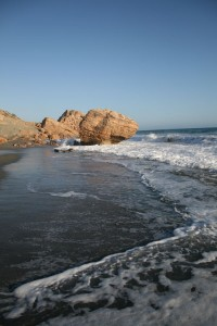 Playa de Ligres en Creta