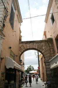 Porta Guora, en el casco antiguo de Rethymno