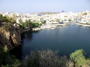 Lago de Agios Nikolaos