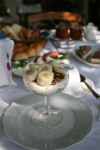 Desayuno en Creta: Yogur, miel y frutos secos