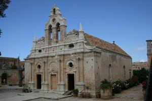 Monasterio Moni Arkadiou en Creta