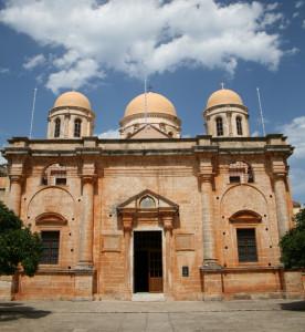 Monasterio Agia Triada en Chaniá