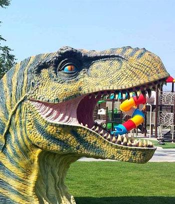 Dinosauria Park en Creta