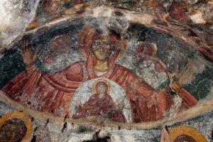 Frescos bizantinos Kritsà